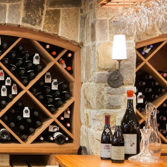 Signature Wine Cellars Custom Racking Masonry Amp Wall